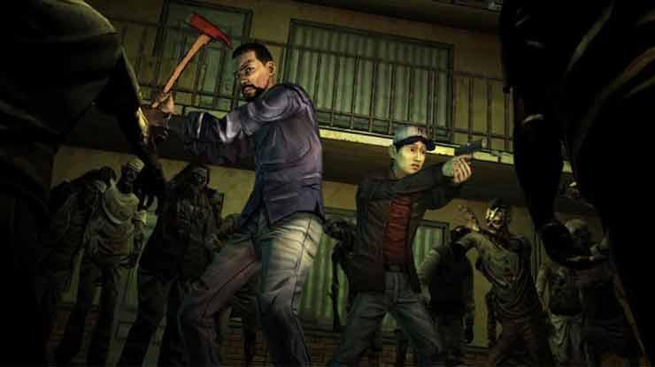 Game Zombie The Walking Dead Season 1
