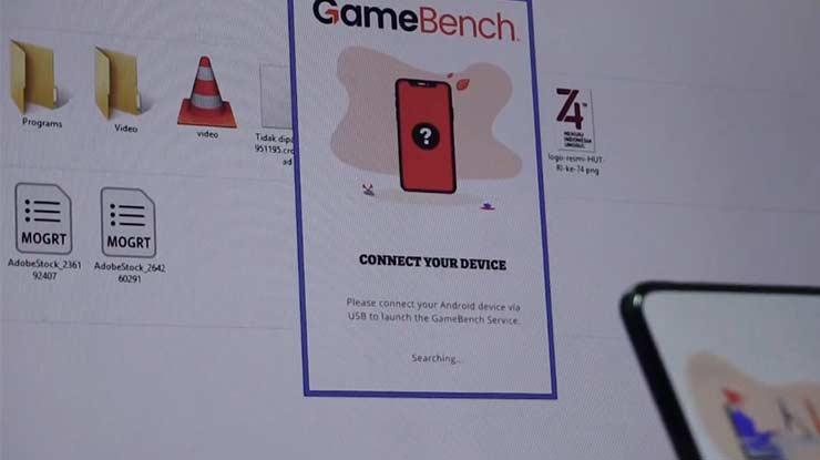 Jalankan Software GameBench di PC