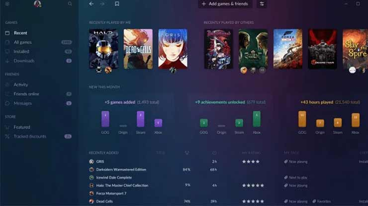 Mendownload Game Lewat GOG Galaxy