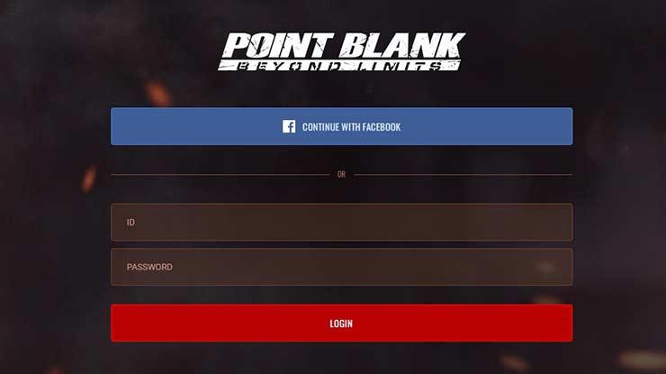 Login Point Blank