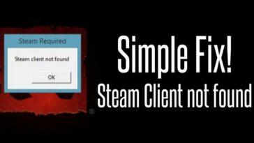 Penyebab Steam Client Not Found Beserta Cara Mengatasi