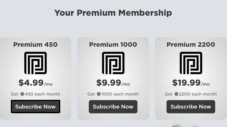 Pilih Paket Premium