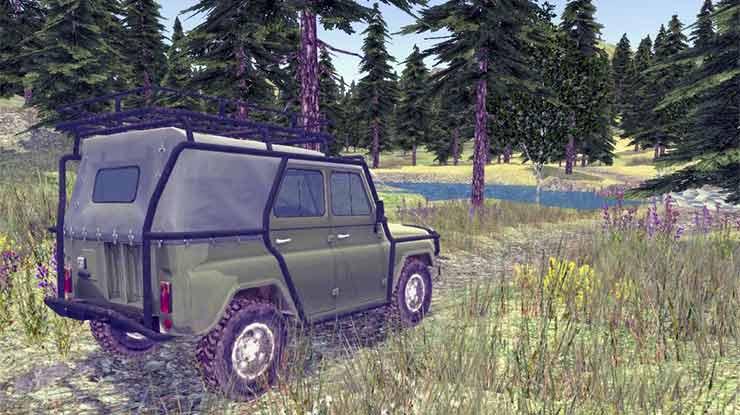 4x4 Russian SUVs Off Road 2