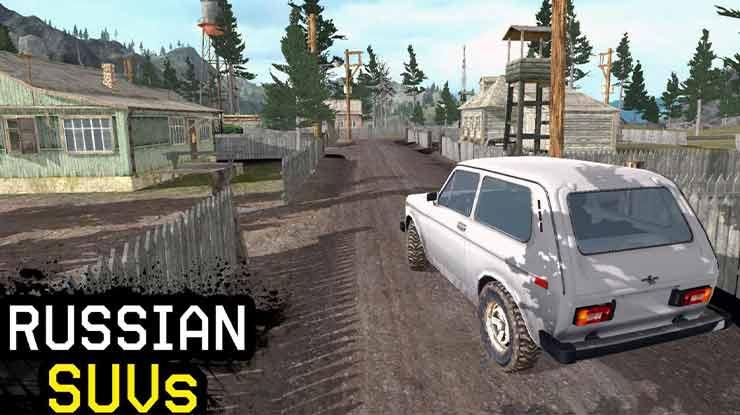4x4 Russian SUVs Off Road