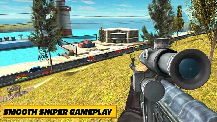 Counter Sniper Shooting