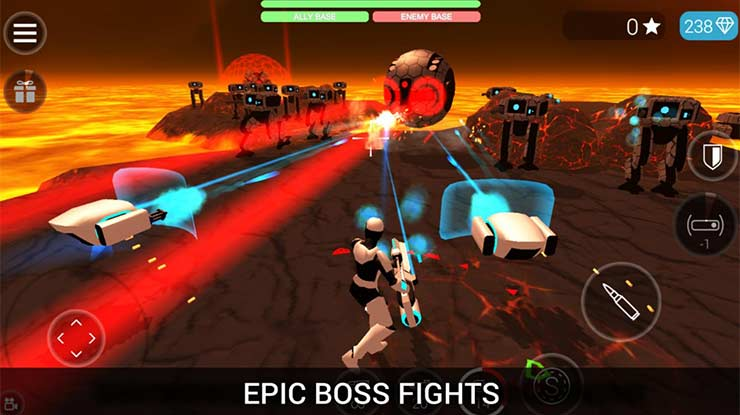 CyberSphere SciFi Third Person Shooter