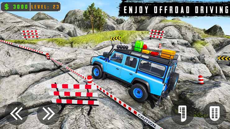 Fury Monster Jeep Parking Offroad Truck Driving