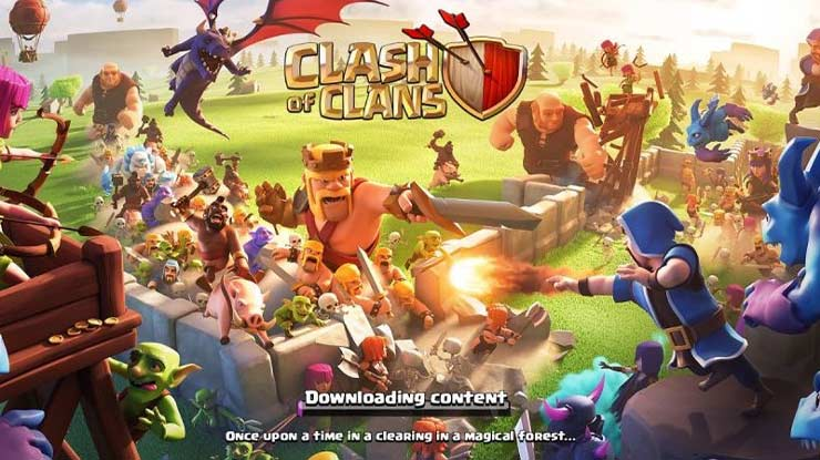 Game Android Multiplayer Clash of Clans