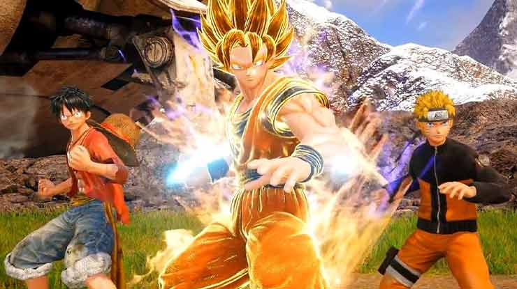 Game Anime PC Jump Force