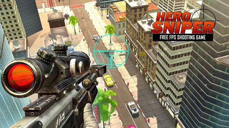 Hero Sniper FPS Free Gun Shooting Games