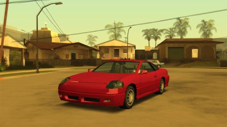 Kode Mobil Sport GTA San Andreas