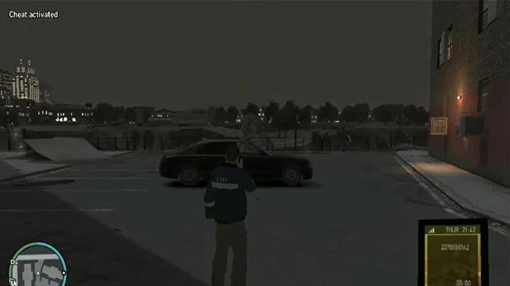 Pasang Kode GTA IV