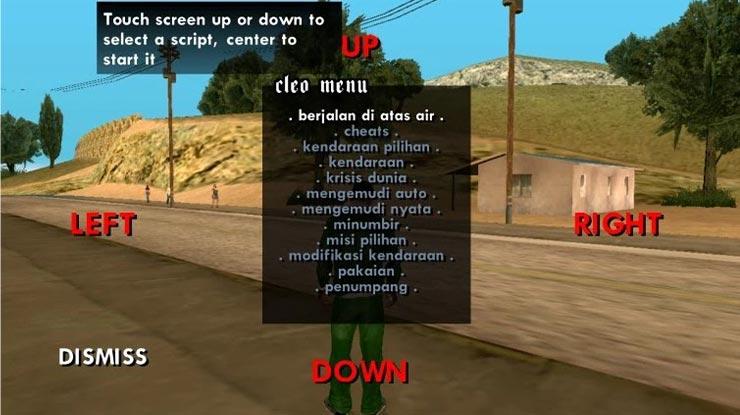 Pasang Kode GTA San Andreas di PC atau Laptop
