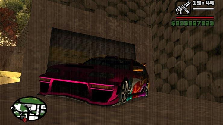 Pasang Kode GTA San Andreas di PS2