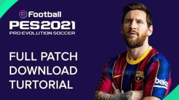 Patch PES 2021 Mobile Beserta Link Download Cara Instal