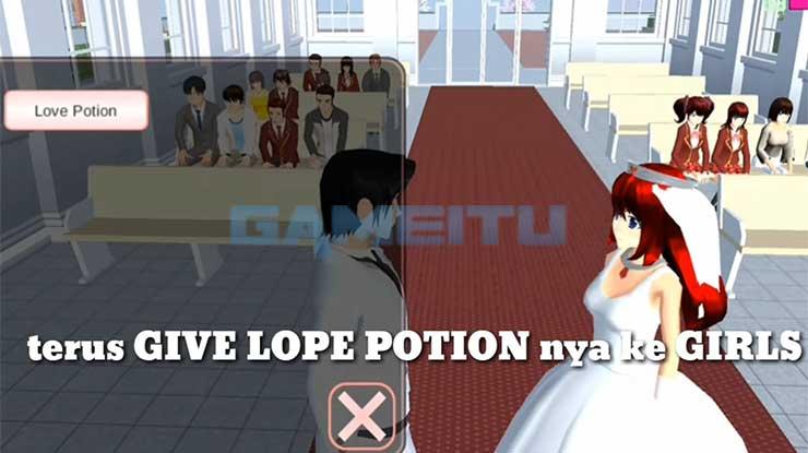 Berikan Love Potion