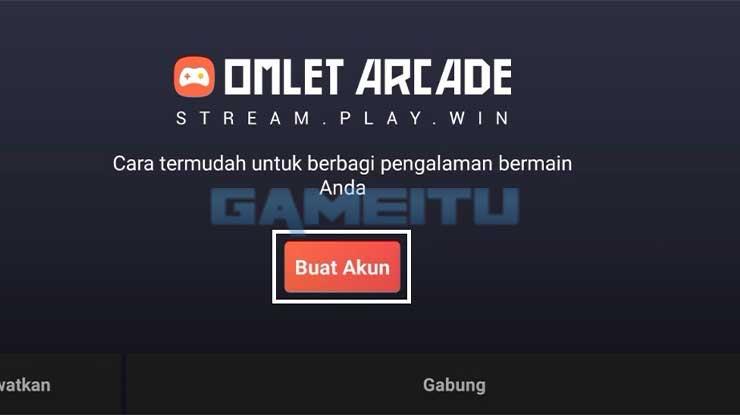 Buka Aplikasi Omlet Arcade