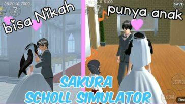 Cara Menikah di Sakura School Simulator Punya Anak