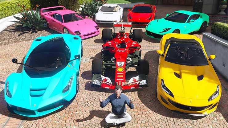 Daftar Harga Mobil di GTA 5
