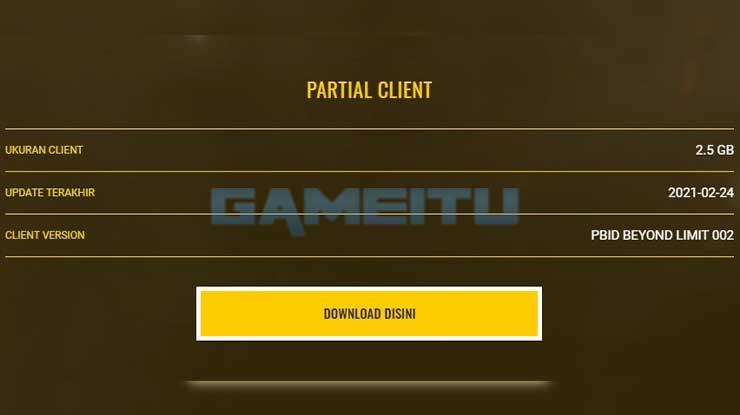 Download PB Partial Client