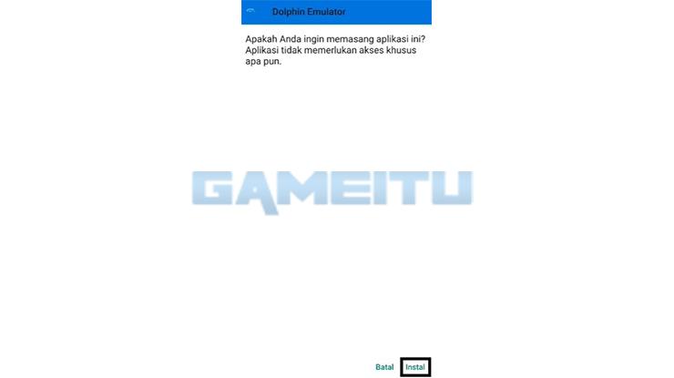 Instal Dolphin Emulator