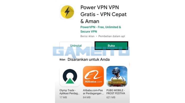 Instal VPN