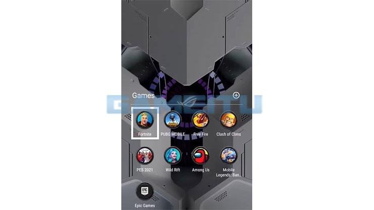 Jalankan APK Fortnite Mobile