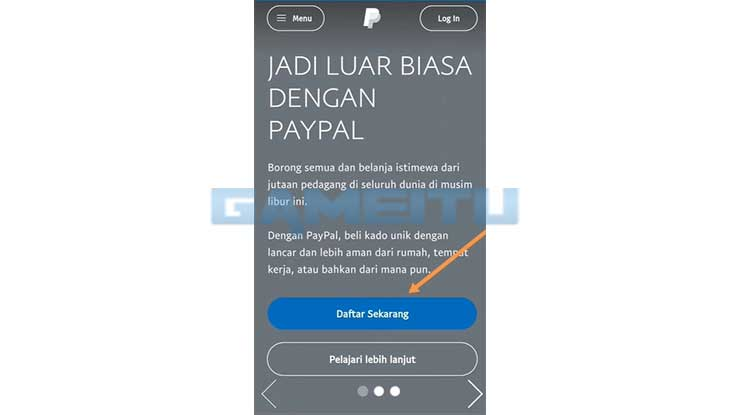Kunjungi Situs Resmi Paypal