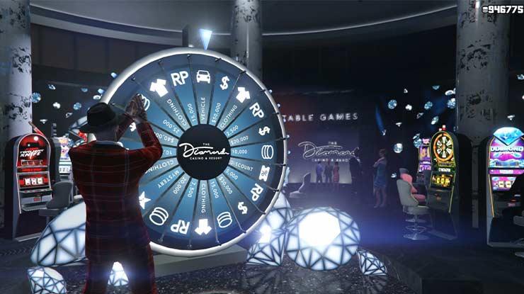 Memutar Lucky Wheel