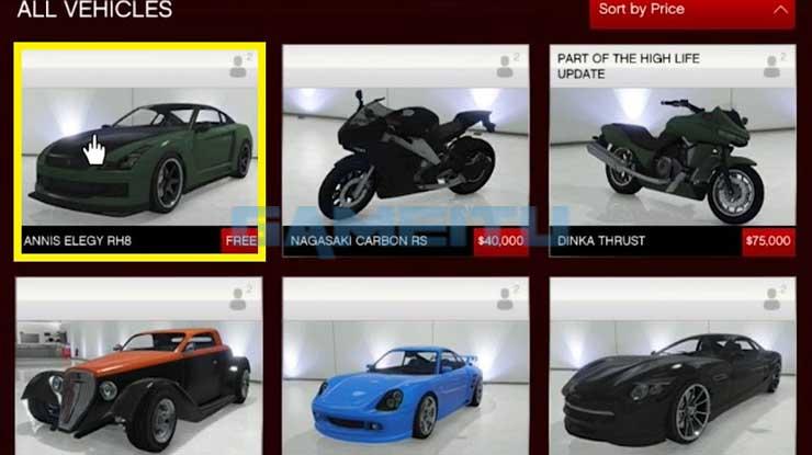 Muncul Pilihan Mobil Gratis