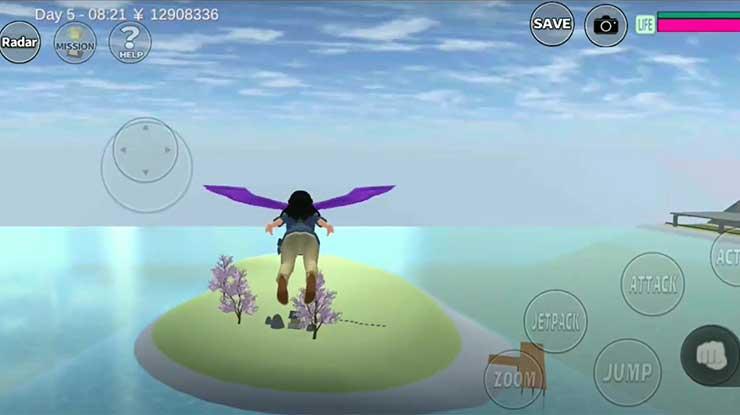 Pulau Misterius Sakura School Simulator