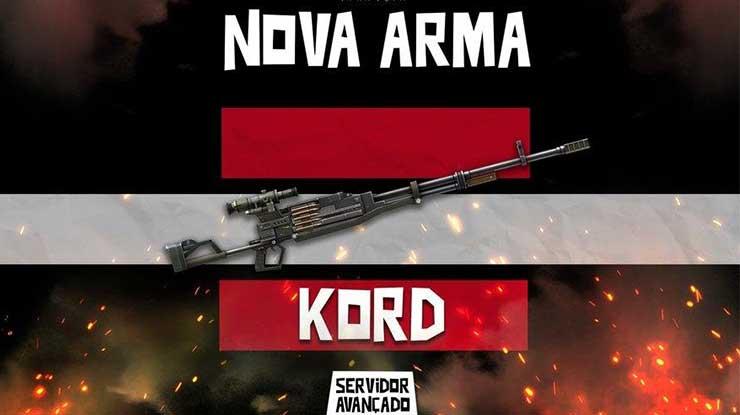 Attachment KORD Free Fire Terbaik Spesifikasi