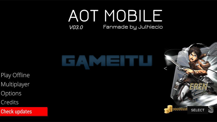 Attack On Titan 2 Android Siap Dimainkan