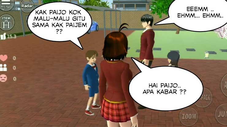 Cara Ganti Bahasa di Sakura School Simulator