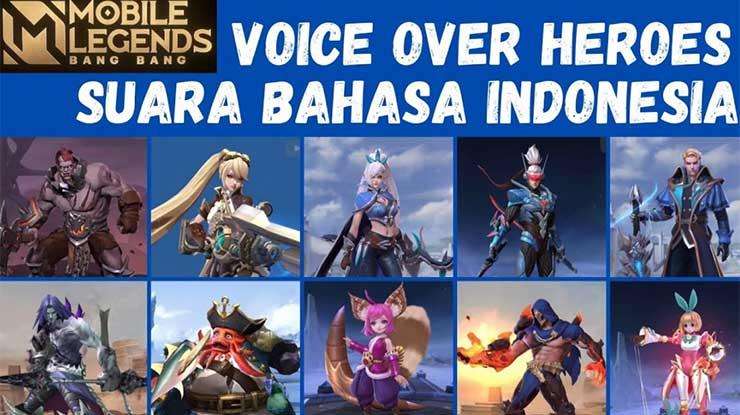 Cara Mengganti Voice Over Mobile Legend Jadi Bahasa Indonesia