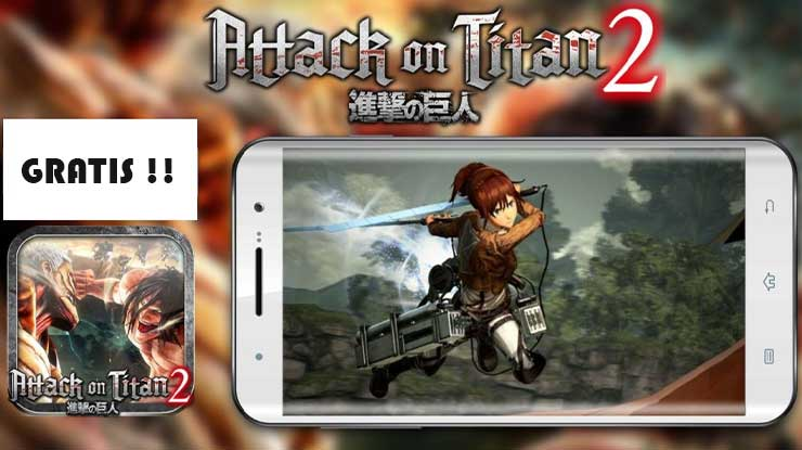 Download Game Attack On Titan 2 Android Gratis Tanpa Emulator