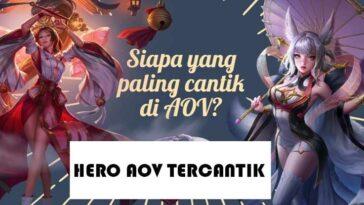 Hero AOV Tercantik Dengan Skill Mematikan