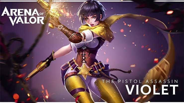 Hero AOV Violet