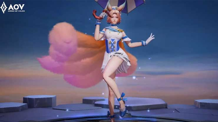 Keunggulan Skin AOV Spring Breeze Liliana