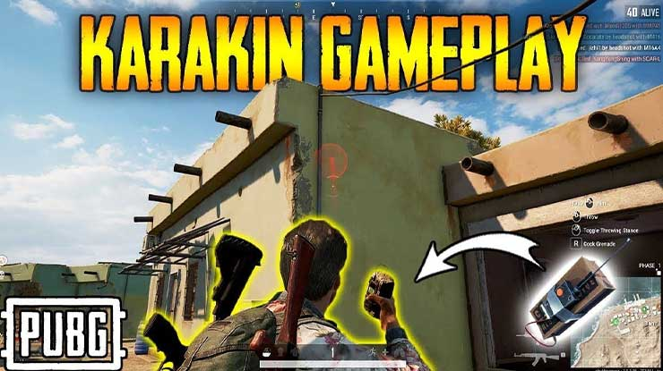 Sticky bomb di MAP Karakin PUBG Mobile