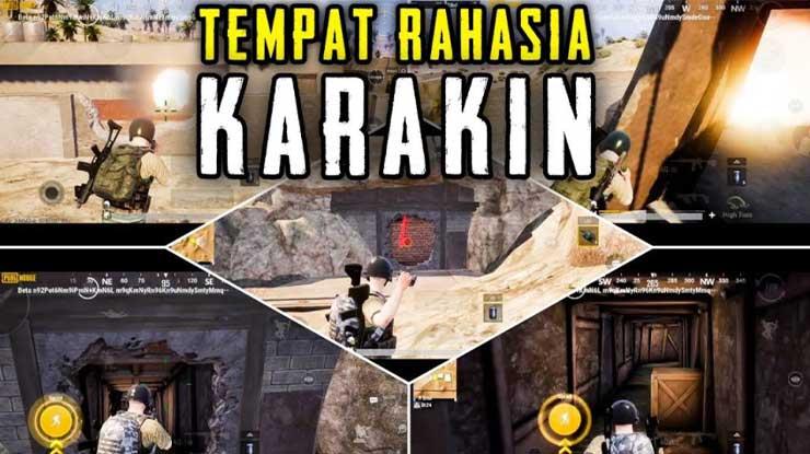 Tempat Rahasia di MAP Karakin PUBG Mobile