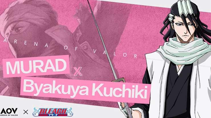 Cara Mendapatkan Skin Byakuya Uchiki AOV Gratis Permanen