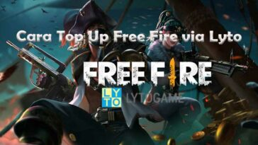 Cara Top Up Free Fire via Lyto Hanya 3 Menit