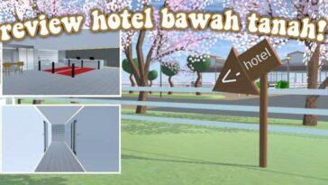 Hotel Bawah Tanah di Sakura School Simulator Bisa Nginep Gratis