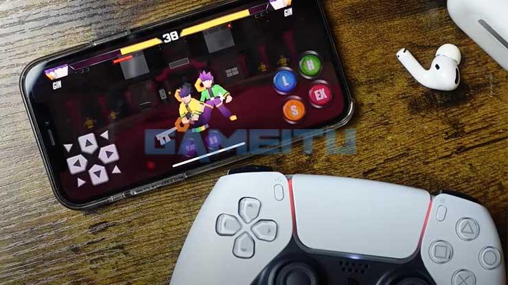 Hubungkan iPhone ke DualSense PS5 Berhasil