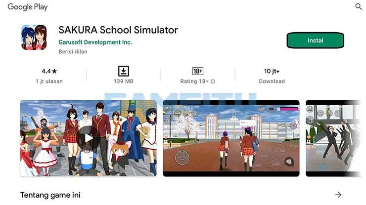 Install Sakura School Simulator