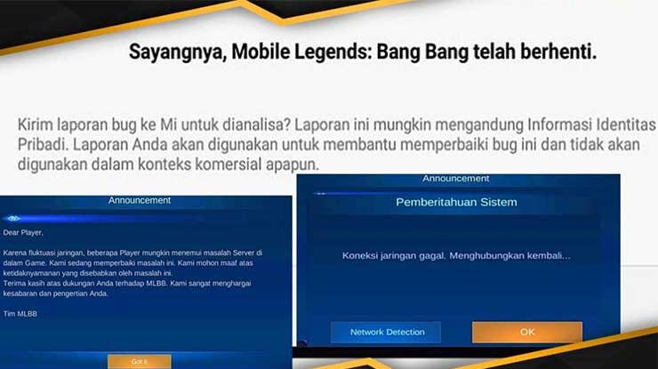 Kenapa Mobile Legend Tidak Bisa Dibuka