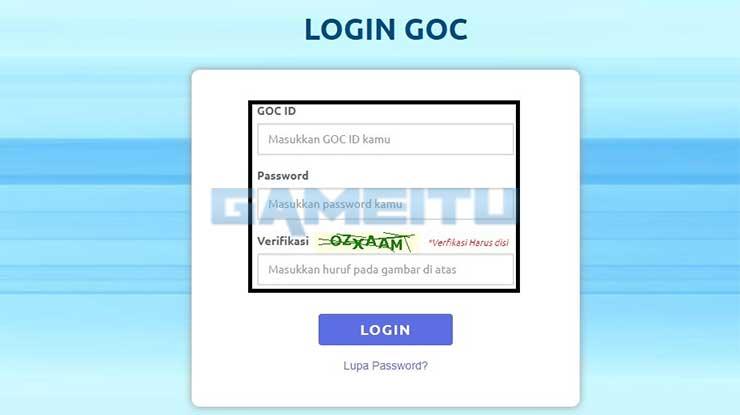 Login GOC