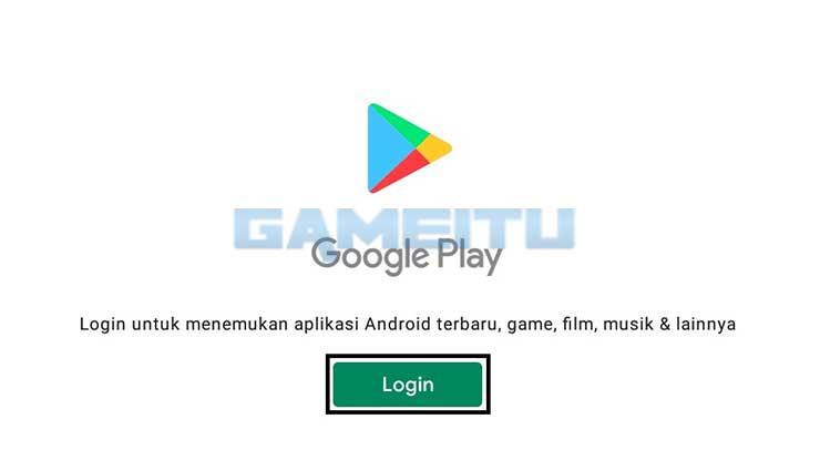 Login Google Play