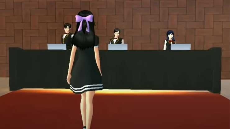 Meja Receptionist